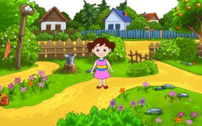 La princesa del jardín