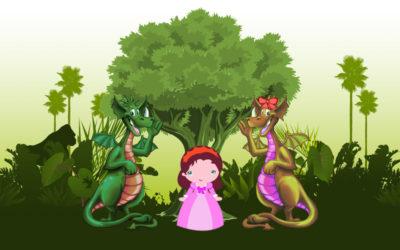 Mirta y los dragones celestiales