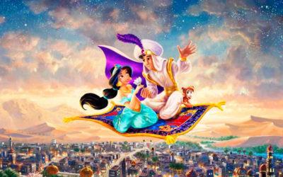 Aladino y la lámpara maravillosa (historia de Jasmín)