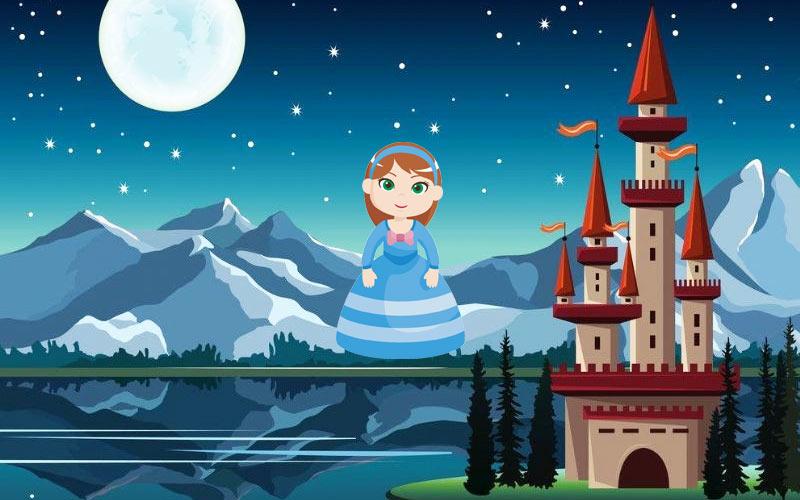 Aurora La Princesa Que No Conocía La Luna Bonito Cuento Infantil