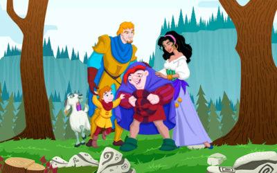 El Jorobado de Notre Dame (Princesa Esmeralda)