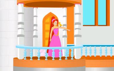 La Princesa Rosa y el Pájaro Dorado