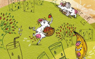 Las vacas que dan leche con sabor